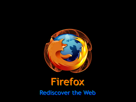 Rediscover The Web - firefox
