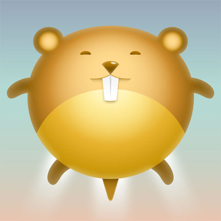 Design-cute-hamster-avatar-character-illustration-tutorials