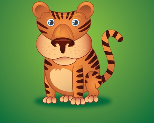 tiger 25 Illustrator Tutorials For Creating Animal Illustrations