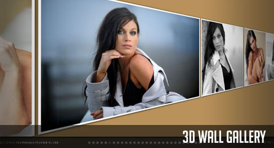 19 3d 20+ jQuery Gallery Slider Tutorials
