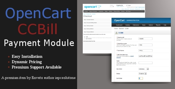 opencart bank transfer instructions
