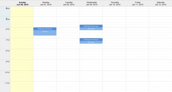 Weekly Calendar Using Javascript : Cool jquery calendars design freebies
