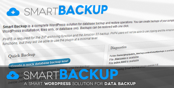 wordpress-smart-backup