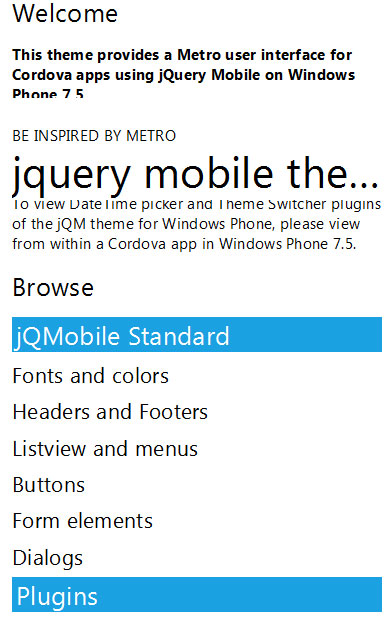 jquery metro plugin 3 5 jQuery Metro UI Plugins