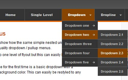 10 Simple CSS Drop-Down Menu – Design Freebies