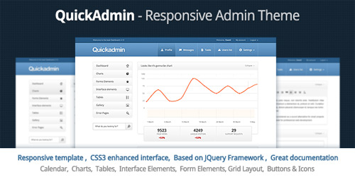 24 admin html templates for web application design freebies for Simple admin html template