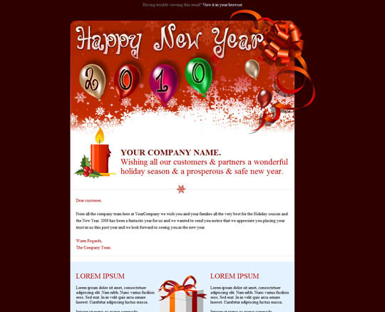8 Best Christmas Email Templates Design Freebies