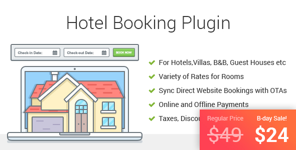 22 Best Wordpress Booking System Plugins Design Freebies