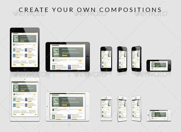 8 beautiful iphone psd templates design freebies