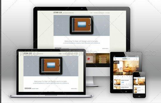 22 PSD Mockup For Responsive Design & App – Design Freebies
