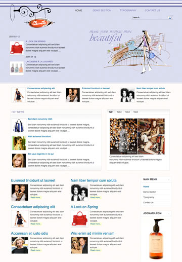 beauty-magazine-free-joomla