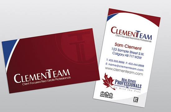 10 creative real estate business cards design freebies this is a mock up of one of the real estate business card design versions we designed reheart Choice Image