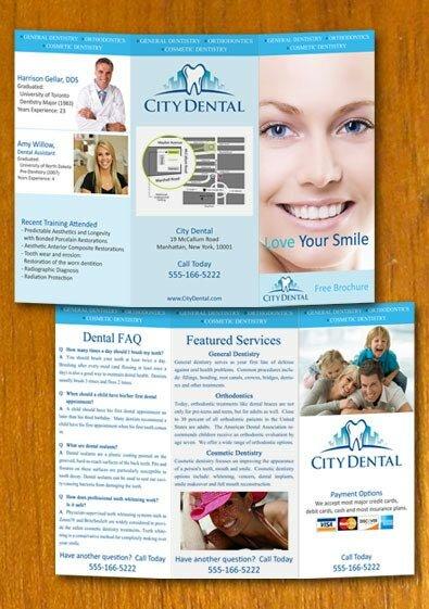 41 free premium trifold brochure templates design freebies