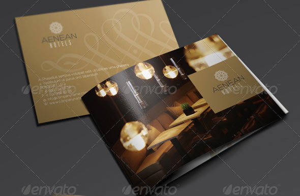 Furniture styles guide - 10 Professional Hotel Brochure Templates Design Freebies