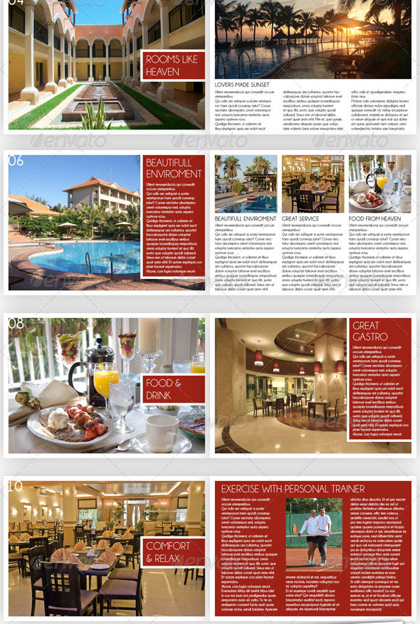 10 professional hotel brochure templates  u2013 design freebies