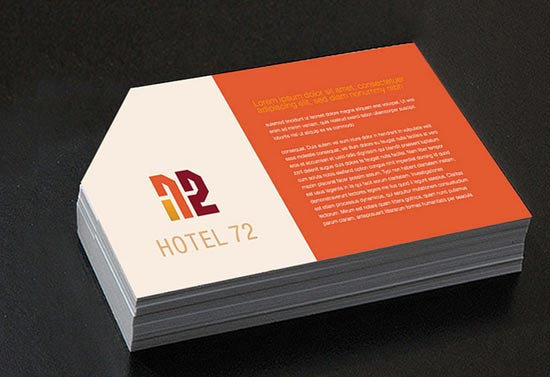 16 creative hotel business cards design freebies for Hotel name design