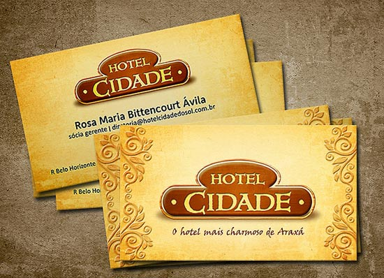 16 creative hotel business cards  u2013 design freebies