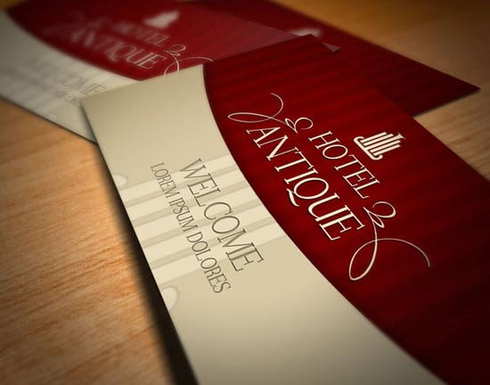16 creative hotel business cards  u2013 design freebies