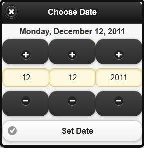 4 jQuery Datepicker Plugins For Mobile – Design Freebies