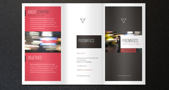 6 Free Trifold Brochure Templates Design Freebies