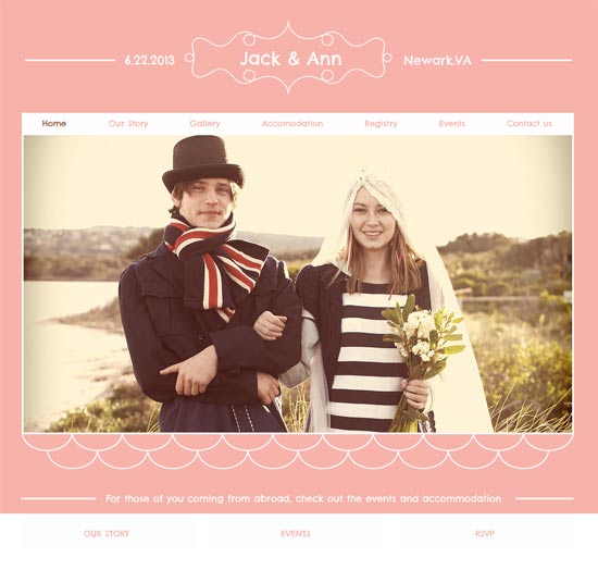 Best Wedding Websites.16 Best Wedding Website Templates Design Freebies