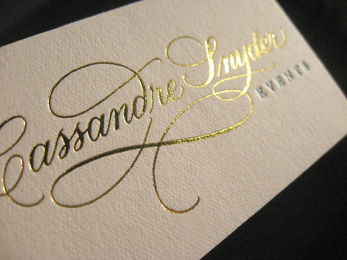 19 Metallic Business Cards Inspiration Design Freebies