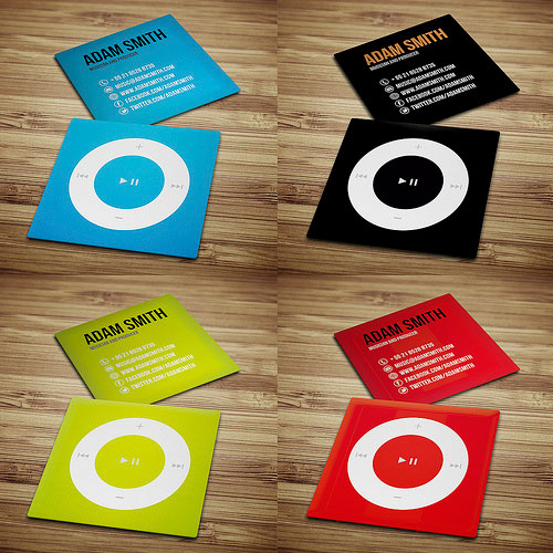 11 Mini Business Cards Examples – Design Freebies