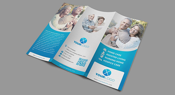 Medical Tri Fold Brochure Templates For Free Pasoevolistco - Home care brochure template