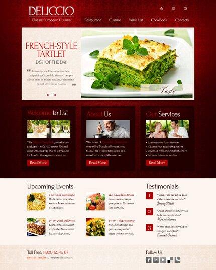 14 Free & Premium Restaurants & Cafes HTML Templates – Design Freebies