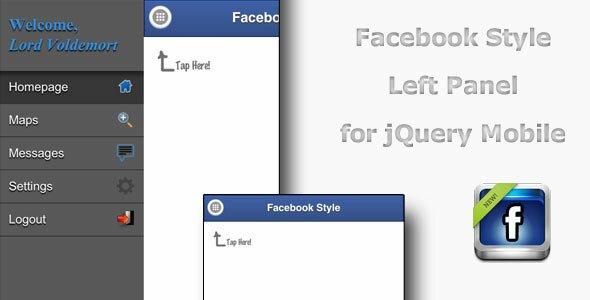 jquery-facebook-side-menu