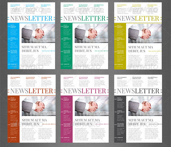 10+ Best InDesign Newsletter Templates