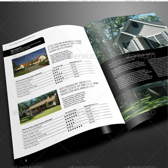 10 Premium Real Estate Brochure Templates – Design Freebies
