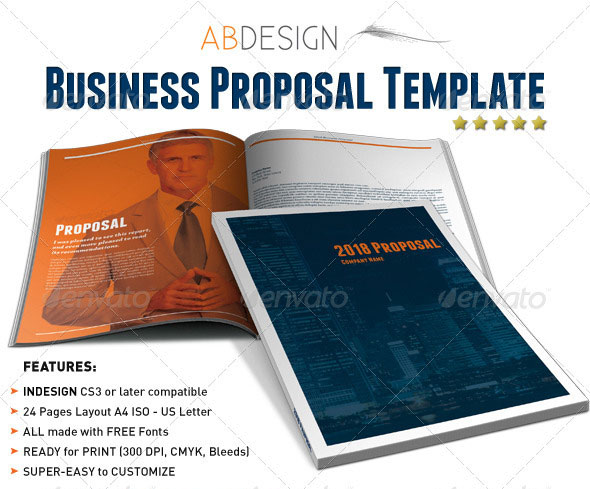 Pretty free indesign proposal template images business proposal 16 best proposal templates design freebies accmission Images