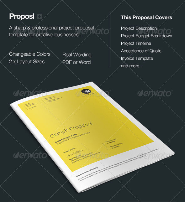 16 Best Proposal Templates Design Freebies – Free Project Proposal Template