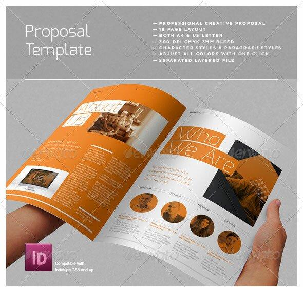 47 Best Proposal Templates Design Freebies