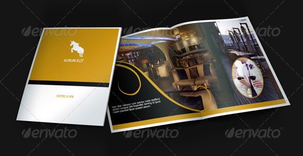 Beautiful Spa Brochure Templates Design Freebies - Hotel brochure template