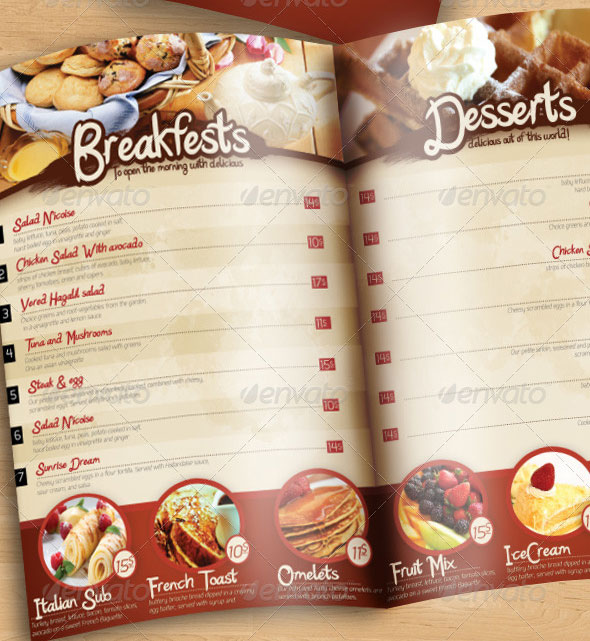 23 creative restaurant menu templates  psd  u0026 indesign