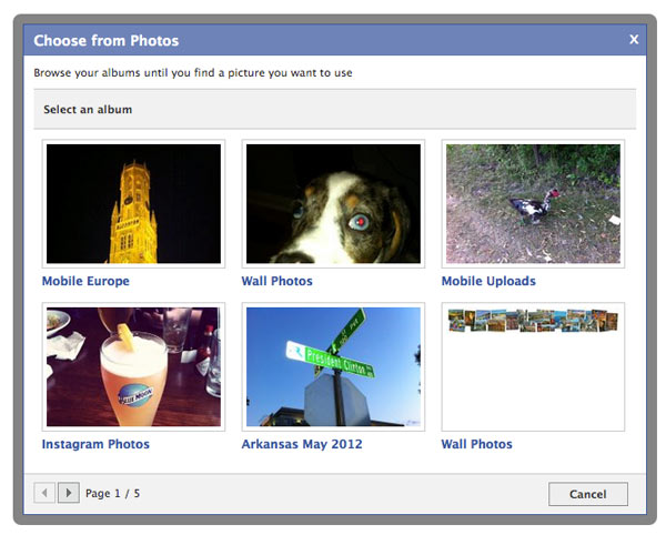 jquery-facebook-selector-photo