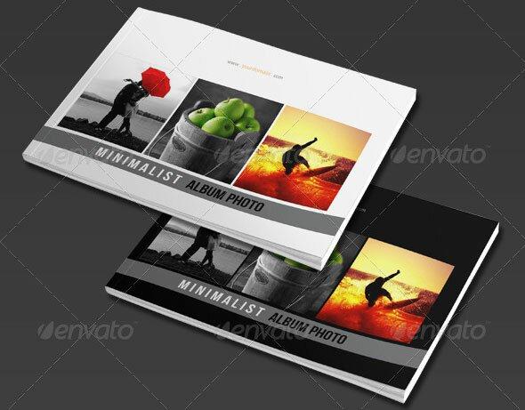 15 best photo album templates psd indesign design for Blurb indesign template