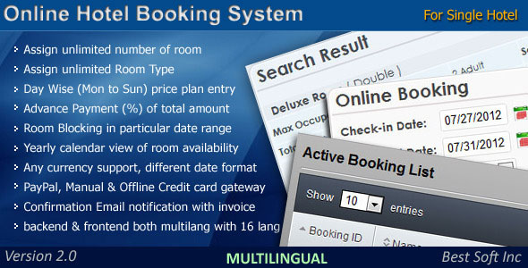 7 Best Booking Rental System Php Scripts Design Freebies