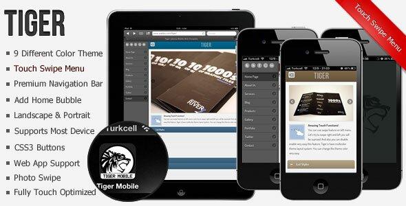 19 best mobile website templates  u2013 design freebies