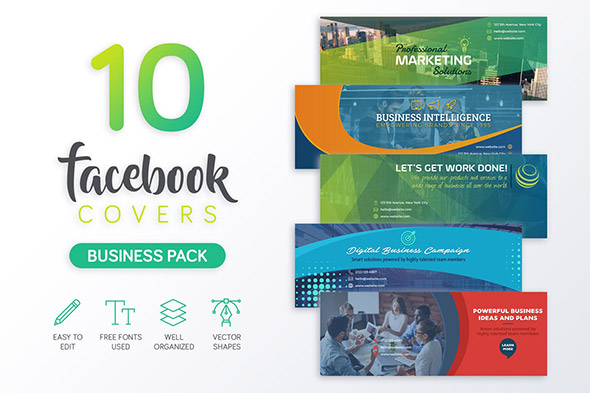 34 creative facebook timeline cover templates design freebies business facebook cover pronofoot35fo Gallery