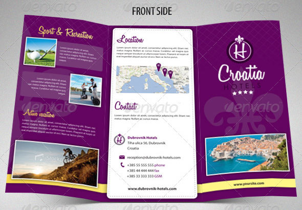 hotel brochure template - Etame.mibawa.co