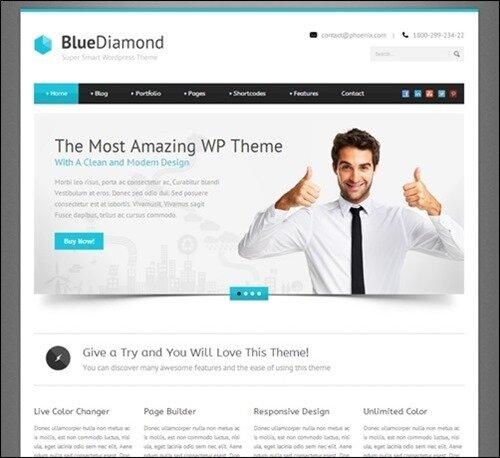 21 Nice Business WordPress Themes – Design Freebies