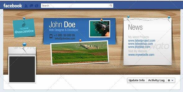 34 creative facebook timeline cover templates design freebies