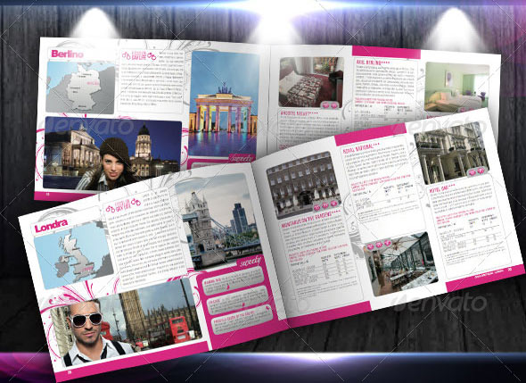 15 great travel brochure templates design freebies