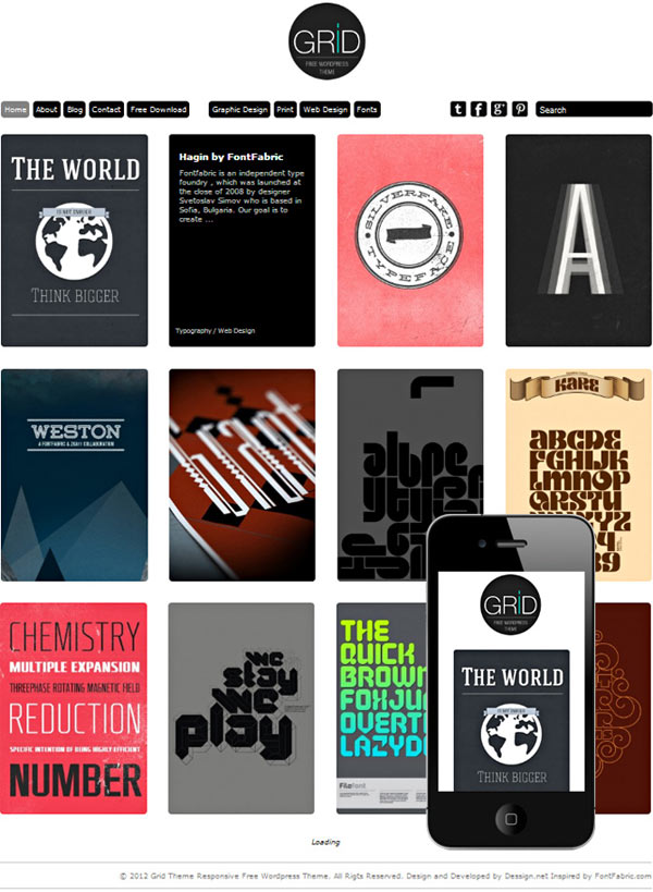 12 Infinite Scroll WordPress Themes – Design Freebies