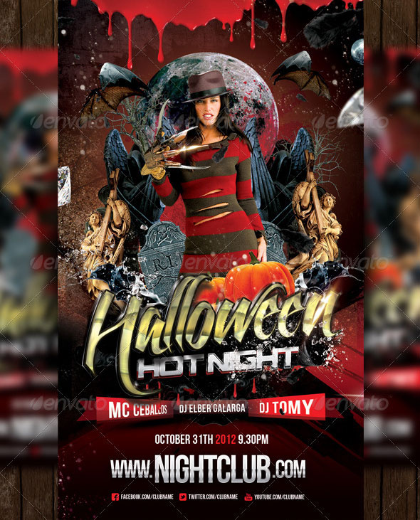 18 Beautiful Halloween Flyer Psd Templates – Design Freebies