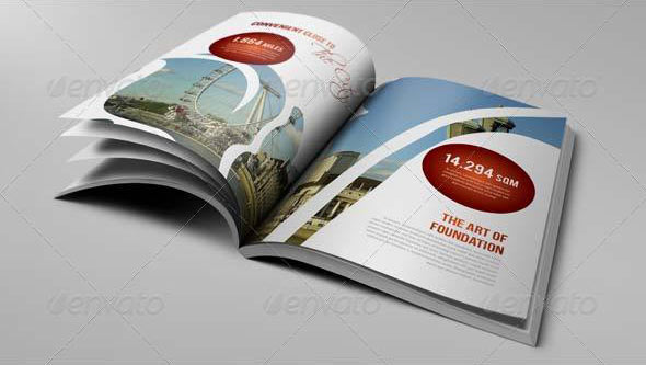 luxury brochure template - 15 great travel brochure templates design freebies