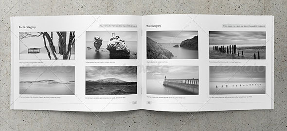 Cool Photography Brochure Templates Design Freebies - Photography portfolio template